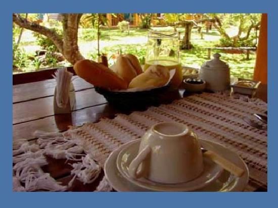 Pousada Zen Mandir: Breakfast