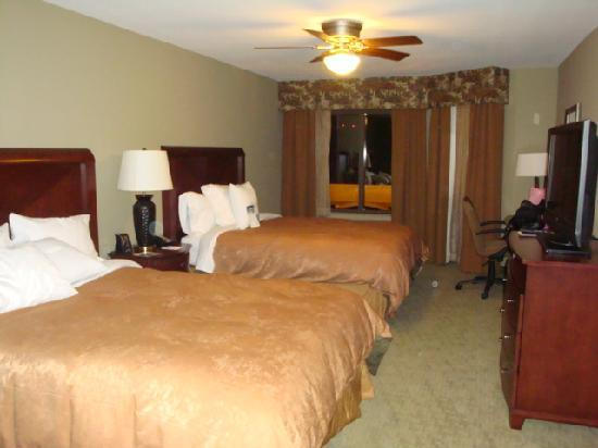 Homewood Suites by Hilton Jacksonville Downtown/Southbank : Bedroom with 2 Queens