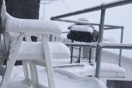 Kilimanjaro Apartments: the snow never stopped falling