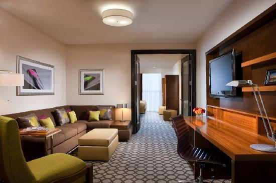 Hyatt Regency Orange County: Newly renovated 1-bedroom suite