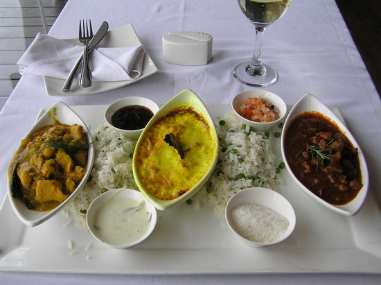 221 Waterfront : Flavours of Africa dish