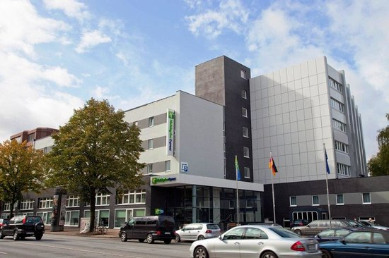 Holiday Inn Express Hamburg City Centre: Aussenansicht