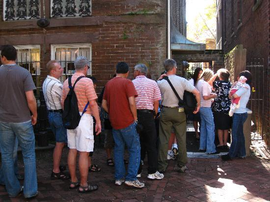 """Mrs. Wilkes Dining Room: A """"short"""" line to get in"""