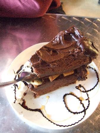 Yummy Cake! - Picture of Cafe on Broadway, Siloam Springs ...