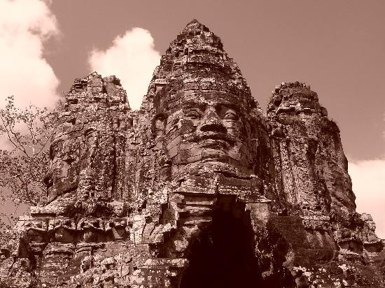 Siem Reap, Cambodia: Bayon Temples