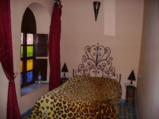 Riad Dar Tamlil: Nuestra habitación.