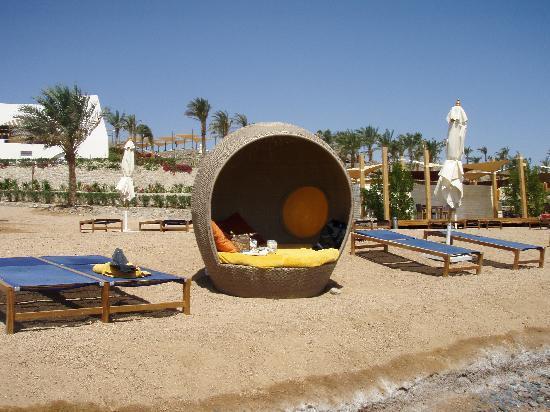 فندق لي ميريديان ذهب: Our little pod on the beach!