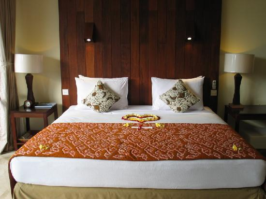 Komaneka at Bisma: Your bed on arrival