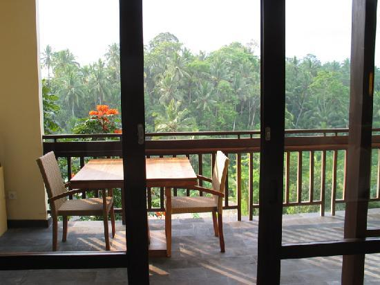Komaneka at Bisma: View onto the balcony