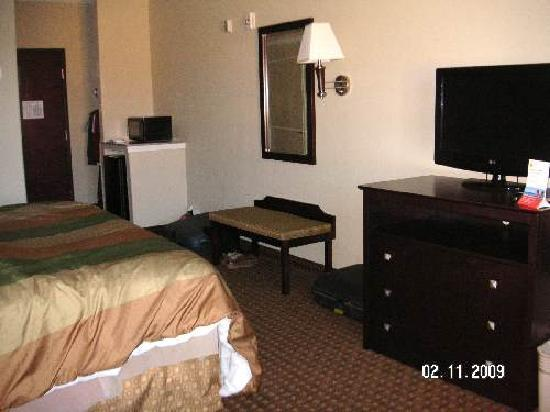 Super 8 Iah West/Greenspoint: Bedroom
