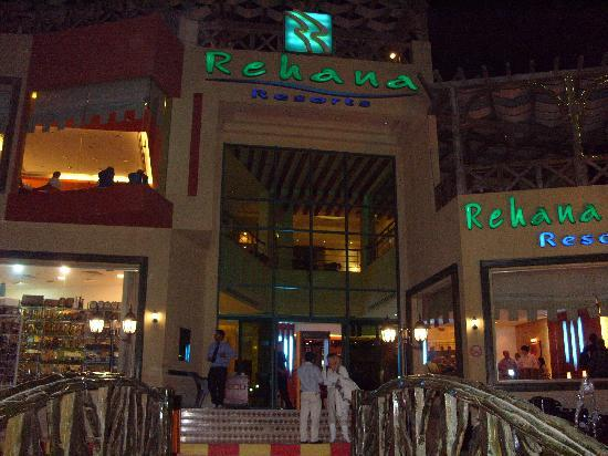 Rehana Sharm Resort: Enterance