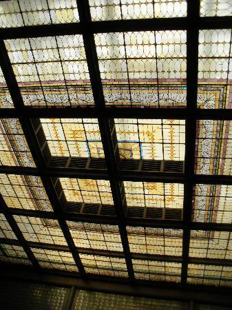 The Brown Palace Hotel and Spa, Autograph Collection: Stained Glass Lobby Ceiling