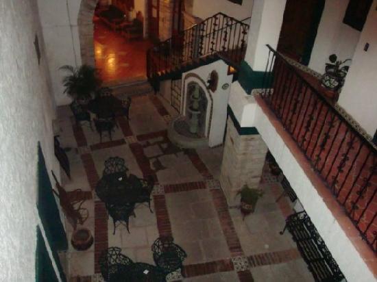 Meson Del Rosario: Vista desde arriba