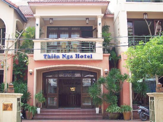 Thien Nga Hotel: Street View