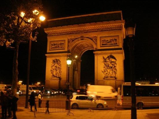 arc de triomphe i place charles de gaulle place de l. Black Bedroom Furniture Sets. Home Design Ideas