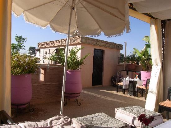 Riad Mariana : Roof-top of the ryad
