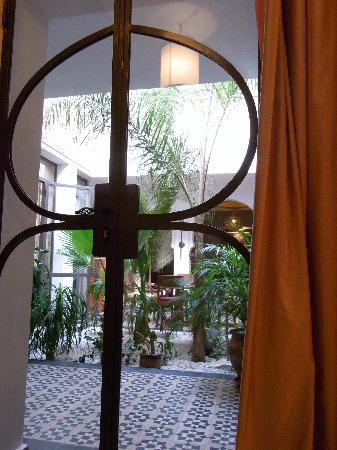 Riad Mariana : From the window of the room