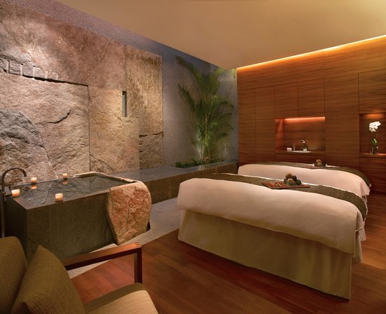 Grand Hyatt Singapore: Damai Spa Couple's Suite