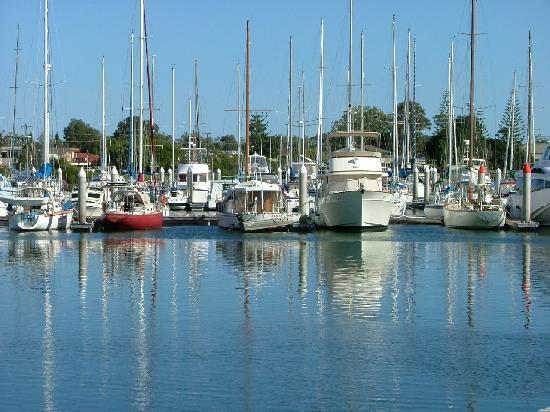 Clubyamba Luxury Holiday Villas : Yamba marina