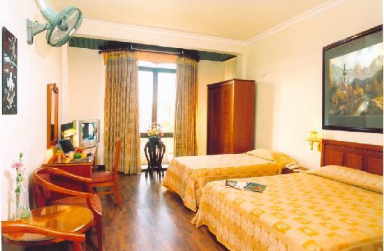 Hanoi Ruby Hotel: deluxe room
