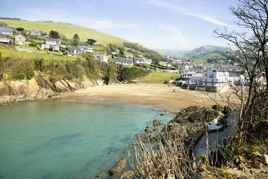 Blair Lodge: Combe Martin bay