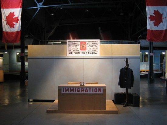 Canadian Museum of Immigration at Pier 21: Pier 21 museum