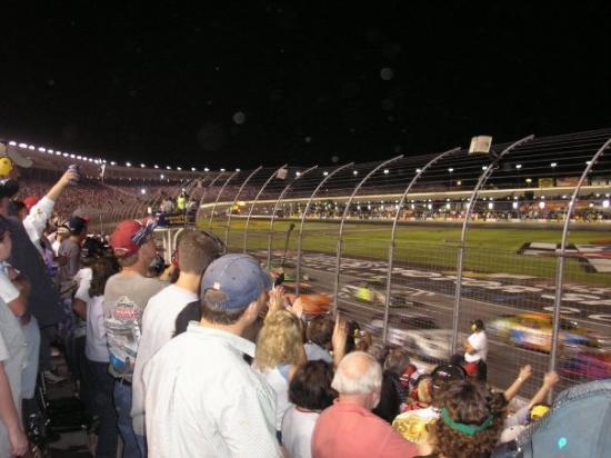 Grandstands from the infield picture of charlotte motor for Ride along charlotte motor speedway