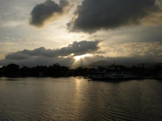 Ambon, Indonesia: ...ray of light...  @poka harbor...