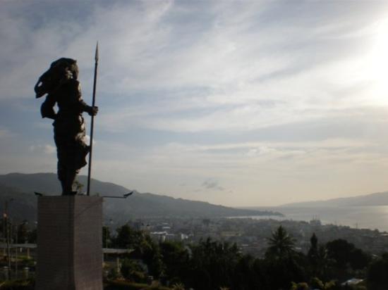 "Ambon, Indonesia: ...namaku Martha Christina Tiahahu...  ""apa datang dari muka, jangan undure"""