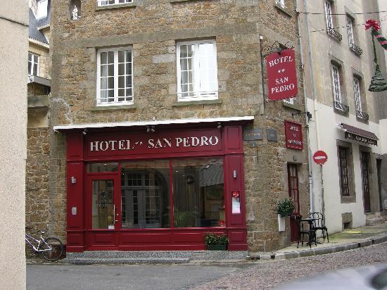 Hotel San Pedro : un coin pour deux.