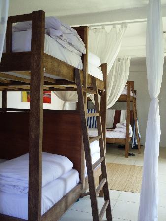 The Island Hotel: dorm room