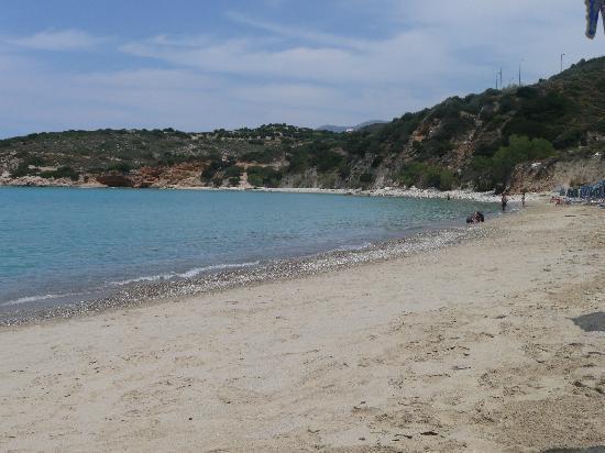 Agios Nikolaos, Greece: Golden Beach - Istro area