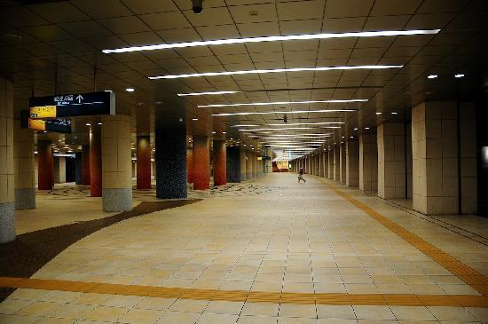 พาร์ค โฮเต็ล โตเกียว: Underground walking route to hotel