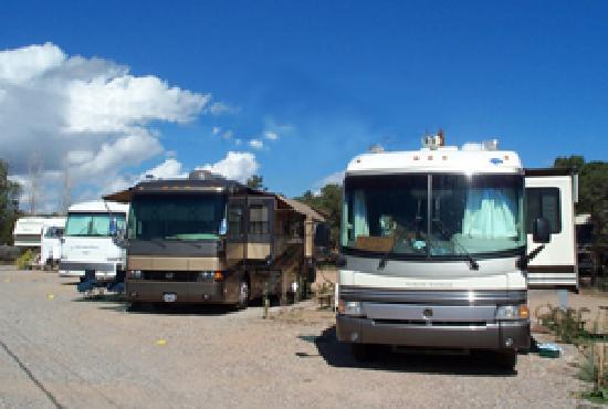 Rancheros de Santa Fe Campground: Big-rig friendly