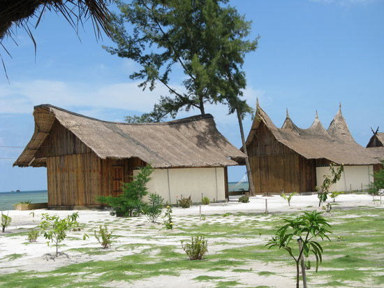 Putri Pandan Resort: Garden view