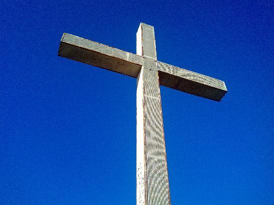 Port Fiesta Park: The cross
