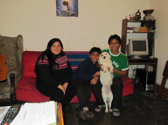 The Angels Inn Backpackers Peru: The Family