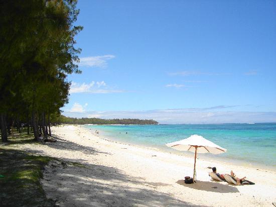 Asso Villa: ancora la spiaggia di Belle Mare