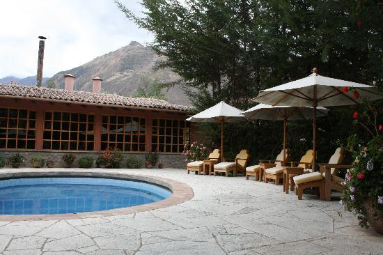 Sol y Luna - Relais & Chateaux: This is the pool. In Oct, it was too cold to jump in though