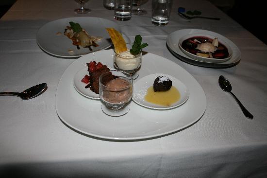 Sol y Luna - Relais & Chateaux: The desserts were so delicious!