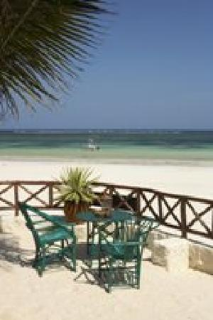 Diani Blue: The Ledge, overlooking the sea