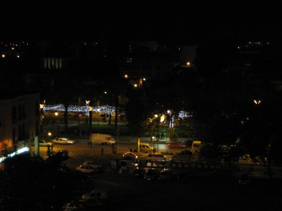 Hotel Sofia: view at night