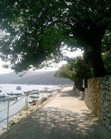 Rabac, Croacia: Passeggiata lungomare