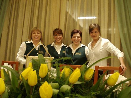 Hotel da Gigi: Personale di sala ristorante
