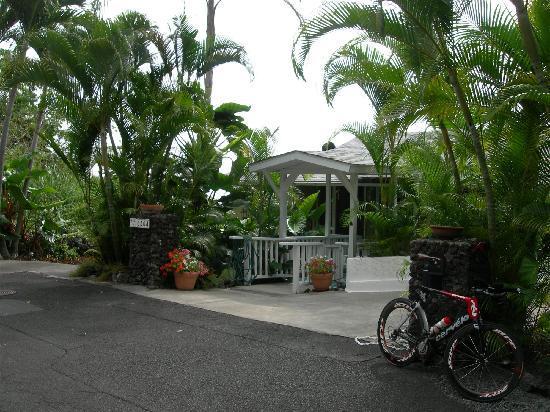 1st Class Vacation Rental Kona Hawaii: The entrance