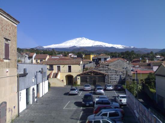 Hotel Alle Pendici Dell'Etna: panorama