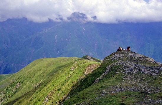 Γεωργία: High Caucasus mountains