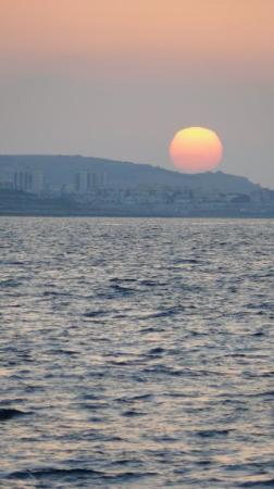 Sliema, Malta: Puesta de sol en Malta