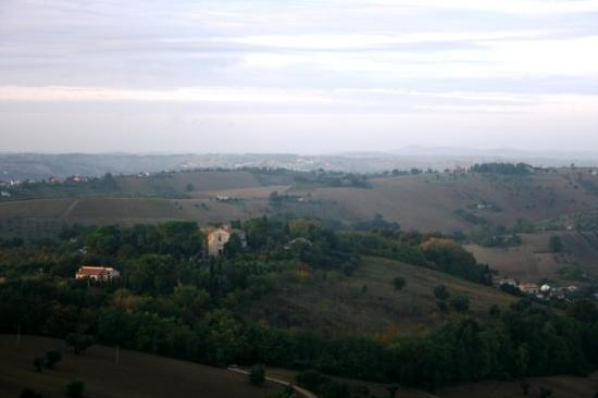 Мачерата, Италия: panorama da Macerata (24th oct)