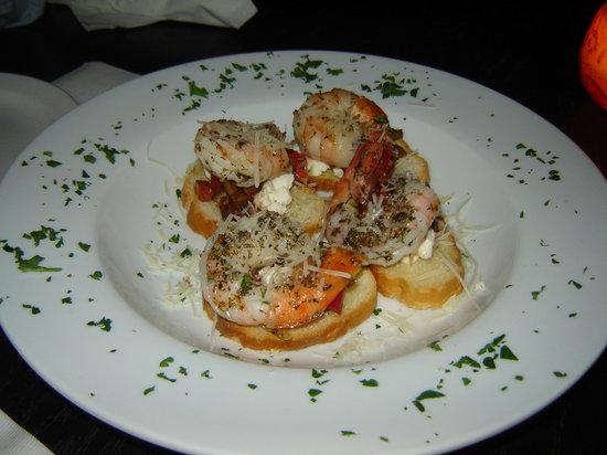 Pazzo: My fav shrimp bruschetta